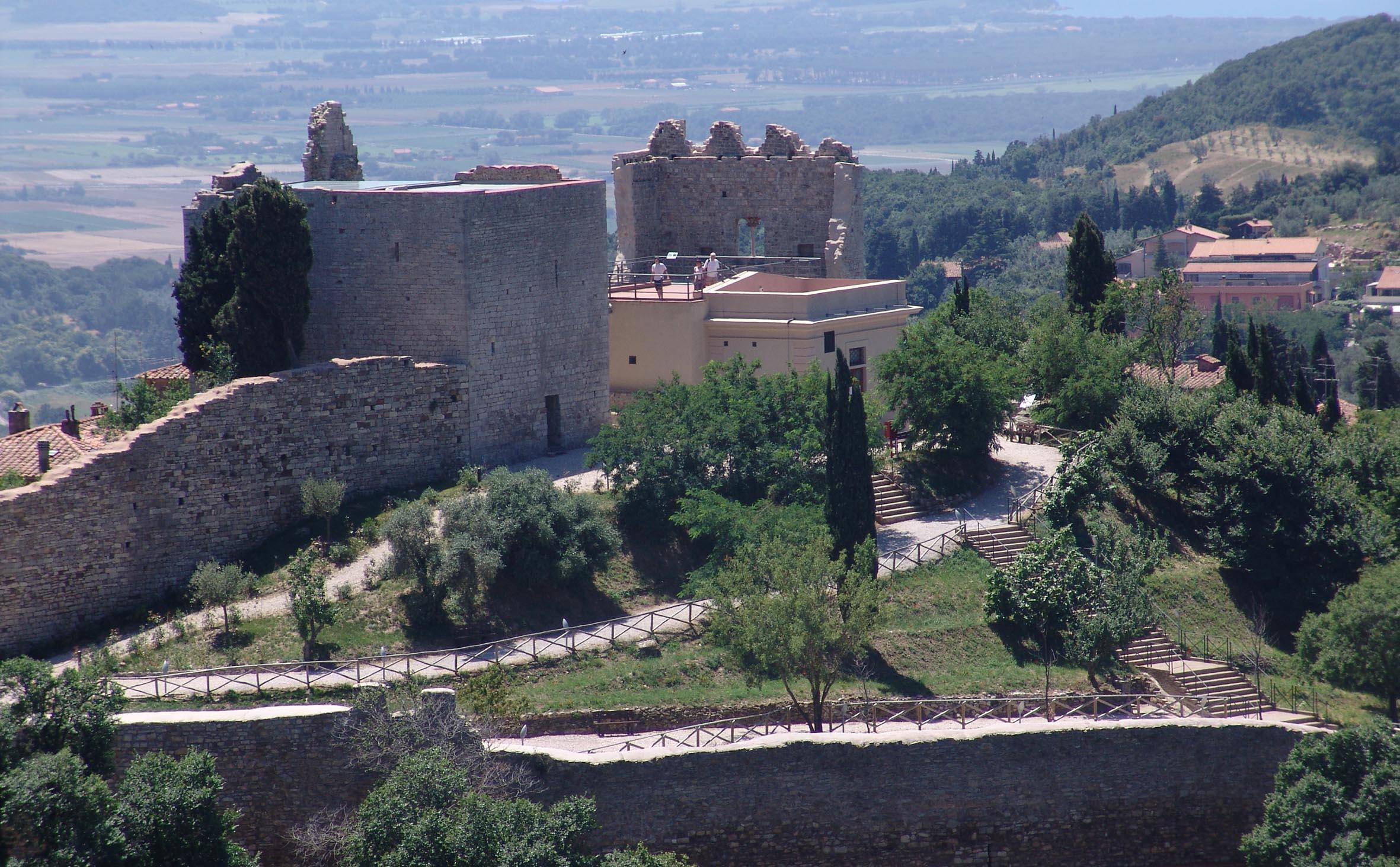 Museen über die Festung von Campiglia Marittima