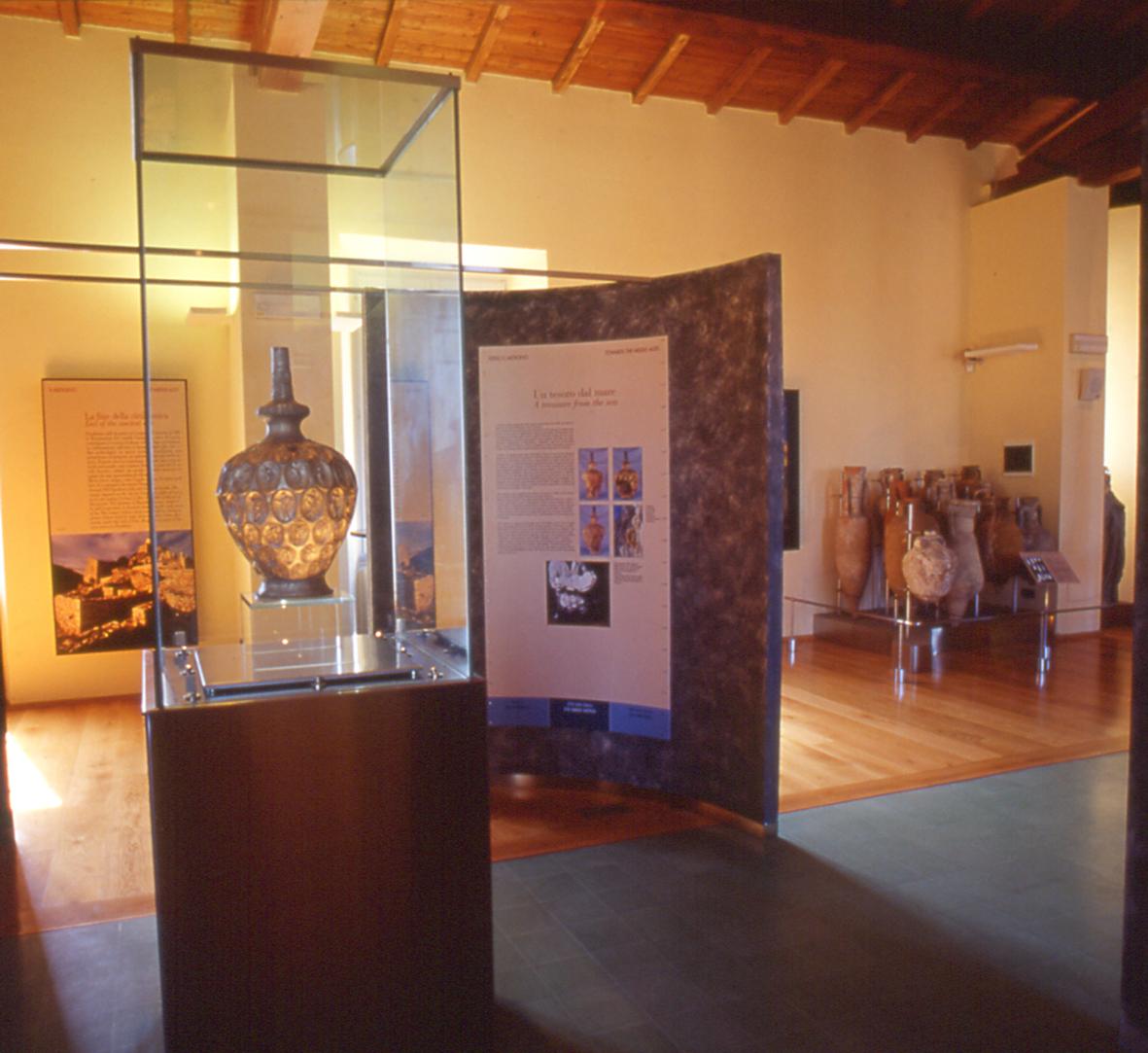 Das archäologische Museum des Gebietes von Populonia