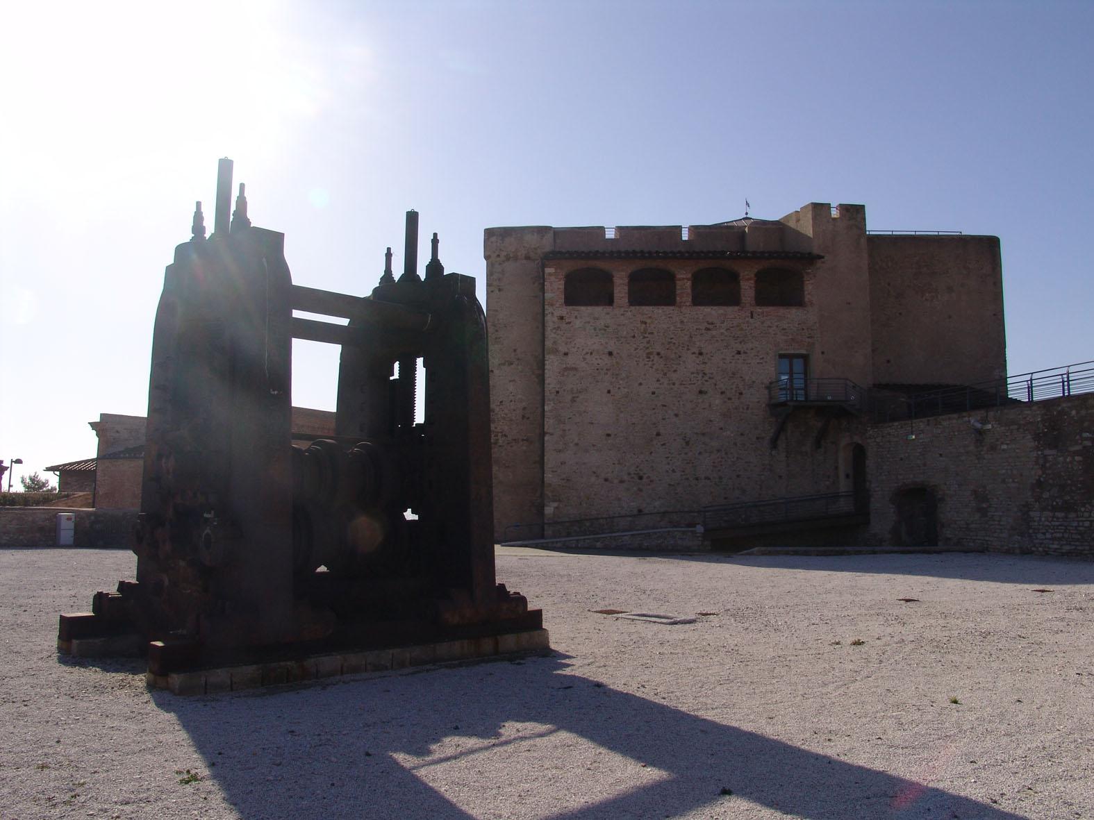 Das Museum über das Schloss und die Stadt Piombino